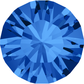 Cristale Swarovski Round Stones 1028 Sapphire F (206) PP 7