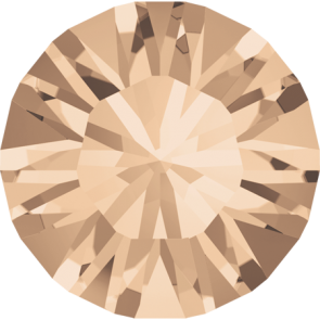 Cristale Swarovski Round Stones 1028 Silk F (391) PP 6