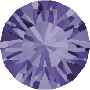 Cristale Swarovski Round Stones 1028 Tanzanite F (539) PP 3