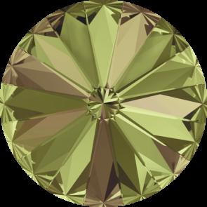 Cristale Swarovski Round Stones 1122 Crystal Luminous Green F (001 LUMG) 12 mm