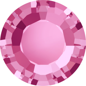 Cristale Swarovski Round Stones 1128 Rose (209) SS 29