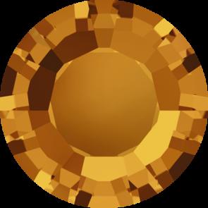 Cristale Swarovski Round Stones 1128 Topaz (203) SS 29