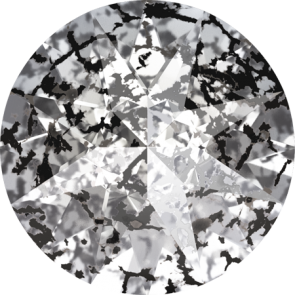 Cristale Swarovski Round Stones 1188 Crystal Black Patina F (001 BLAPA) SS 39