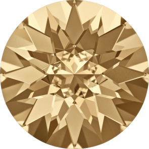 Cristale Swarovski Round Stones 1188 Crystal Golden Shadow F (001 GSHA) SS 29