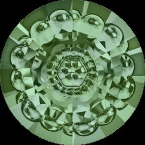 Cristale Swarovski Round Stones 1681 Erinite F (360) 16 mm