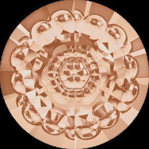 Cristale Swarovski Round Stones 1681 Light Peach F (362) 12 mm