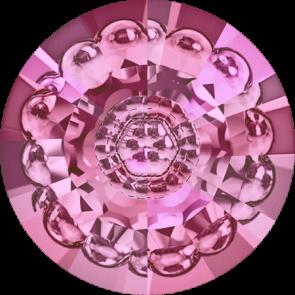 Cristale Swarovski Round Stones 1681 Rose F (209) 12 mm