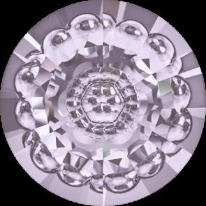 Cristale Swarovski Round Stones 1681 Smoky Mauve F (265) 16 mm