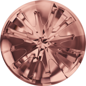 Cristale Swarovski Round Stones 1695 Blush Rose F (257) 14 mm