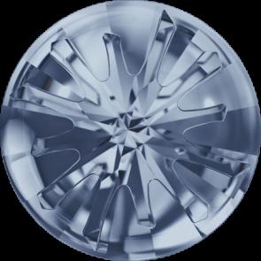 Cristale Swarovski Round Stones 1695 Crystal Blue Shade F (001 BLSH) 14 mm