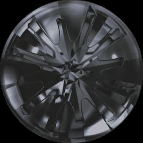 Cristale Swarovski Round Stones 1695 Crystal Silver Night (001 SINI) 14 mm