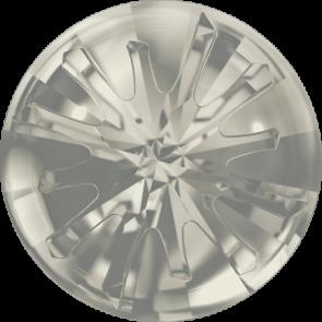 Cristale Swarovski Round Stones 1695 Crystal Silver Shade F (001 SSHA) 14 mm