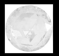 Cristale Swarovski cu spate plat No Hotfix 2072 Crystal 12 mm - Rose Cut FB