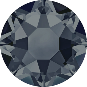 Cristale Swarovski cu spate plat si lipire la cald 2078 Graphite A HF (253) SS 12
