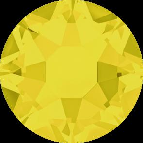 Cristale Swarovski cu spate plat si lipire la cald 2078 Yellow Opal A HF (231) SS 12