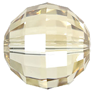 Margele Swarovski 5005 Crystal Golden Shadow (001 GSHA) 16mm