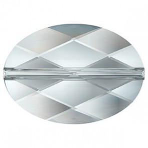 Margele Swarovski 5050 Crystal Comet Argent Light V P (001 CAV) 14 x 10 mm