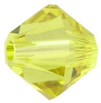 Margele Swarovski 5328 Lime (385) 8 mm