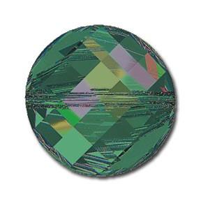 Margele Swarovski 5621 Crystal Vitrail Medium P (001 VM) 18 mm