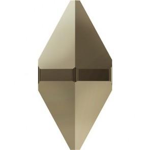 Margele Swarovski 5747 Crystal MetallicLightGold 2x (001 MLG2) 12 x 6 mm