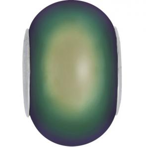 Perle Swarovski 5890 Crystal Scarabaeus Green PRL (001 946) 14 mm