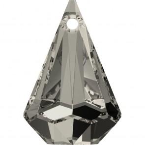 Pandantiv Swarovski 6022 XIRIUS RAINDROP PENDANT Crystal Satin (001 SATIN) 24 mm