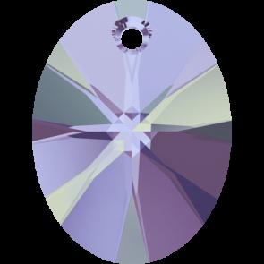 Pandantiv Swarovski 6028 XILION OVAL PENDANT Crystal Vitrail Light P (001 VL) 8 mm