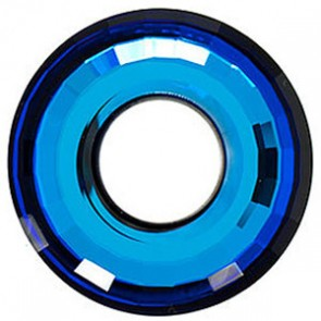 Pandantiv Swarovski 6039 DISK PENDANT Crystal Bermuda Blue P (001 BB) 38 mm