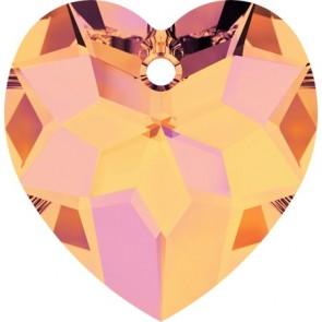 Pandantiv Swarovski 6215 Crystal Astral Pink (001 API) 18 mm