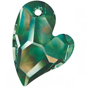 Pandantiv Swarovski 6261 DEVOTED 2 U HEART Crystal Vitrail Medium P (001 VM) 27 mm