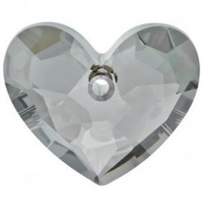 Pandantiv Swarovski 6264 TRULY IN LOVE HEART Crystal Satin (001 SATIN) 18 mm
