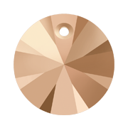 Pandantiv Swarovski 6428 XILION PENDANT Crystal Rose Gold (001 ROGL) 6 mm