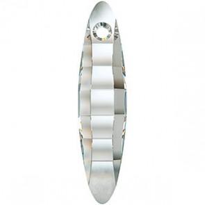 Pandantiv Swarovski 6470 ELLIPSE PENDANT Crystal Satin (001 SATIN) 32 mm