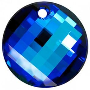 Pandantiv Swarovski 6621 TWIST PENDANT Crystal Bermuda Blue P (001 BB) 28 mm