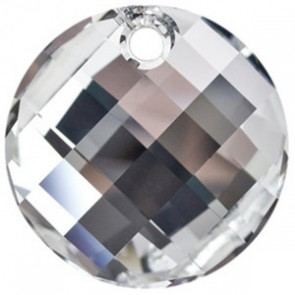 Pandantiv Swarovski 6621 TWIST PENDANT Crystal Comet Argent Light V P (001 CAV) 18 mm