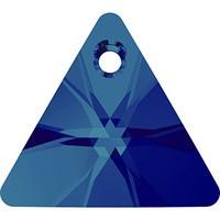 Pandantiv Swarovski 6628 XILION TRIANGLE PENDANT Crystal Bermuda Blue P (001 BB) 8 mm