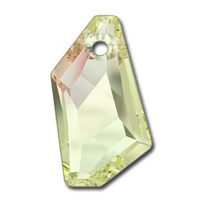 Pandantiv Swarovski 6670 DE-ART PENDANT Crystal Luminous Green (001 LUMG) 18 mm