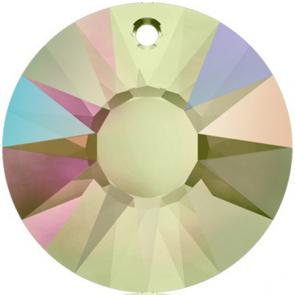 Pandantiv Swarovski 6724 SUN PENDANT Crystal Paradise Shine V (001 PARSV) 19 mm