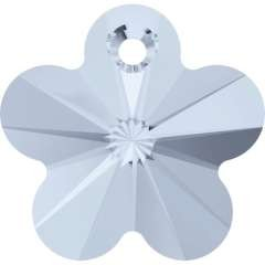 Pandantiv Swarovski 6744 FLOWER PENDANT Crystal Blue Shade (001 BLSH) 14 mm
