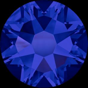 Cristale Swarovski cu spate plat si lipire la cald 2078 Crystal Meridian Blue A HF (001 MBLUE) SS 12
