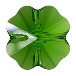 Margele Swarovski 5752 Fern Green 12 mm - Trifoi
