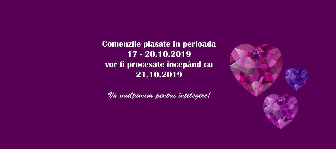 Comenzile din perioada 18.10 - 30.10.2019