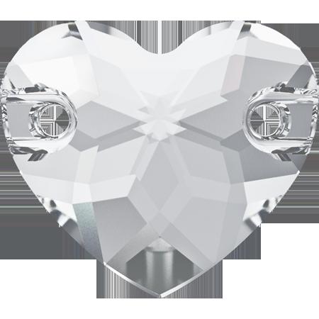 Cristale Swarovski de Cusut 3259 Heart Sew-On