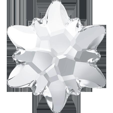 Cristale Swarovski Flat Backs No Hotfix 2753 Edelweiss FB