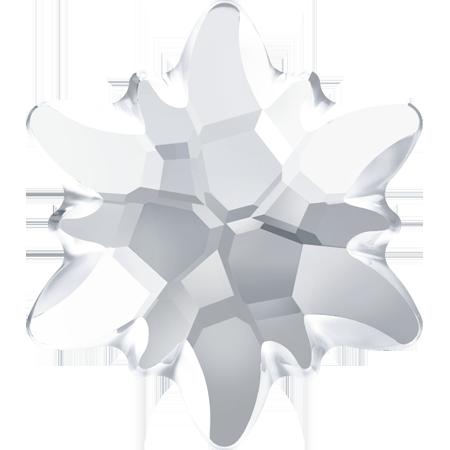 Cristale Swarovski Flat Backs No Hotfix 2753/G Edelweiss FB PF