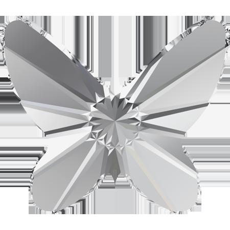 Cristale Swarovski Flat Backs No Hotfix 2854 Butterfly Flat Back