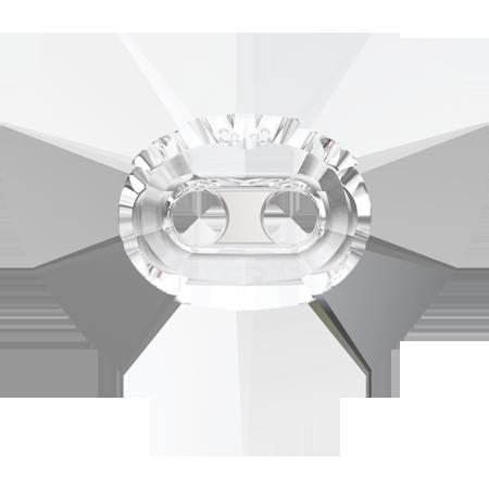 Nasturi Swarovski 3023 Heart Crystal Button