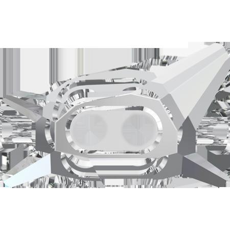 Nasturi Swarovski 3052 Trapeze Crystal Button