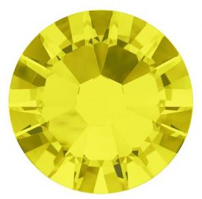 Cristale Swarovski cu spate plat No Hotfix 2000 Citrine SS 5 - de lipit