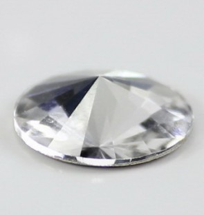 Cristale Swarovski cu spate plat No Hotfix 2006 Crystal F (001) 12 mm - de lipit